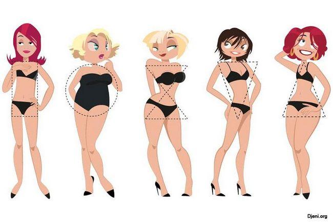 Типы фигур женщин и подбор одежды