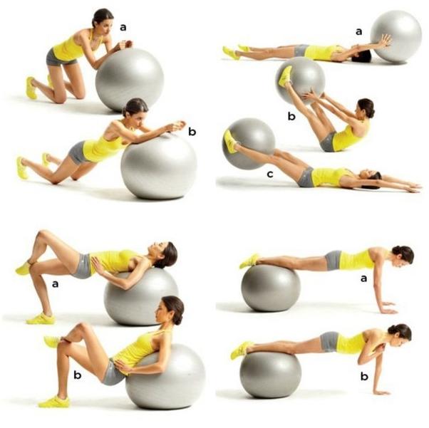 Занятие дома фитнесом для начинающих