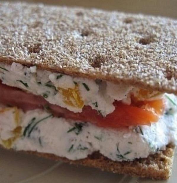 Легкий бутерброд на перекус