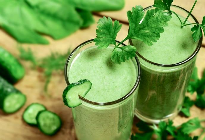 Как приготовить зеленый коктейль