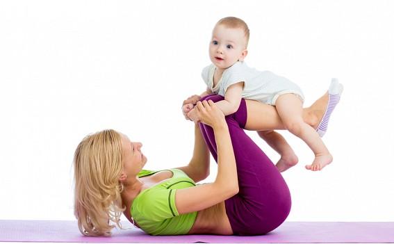 фитнес с малышом