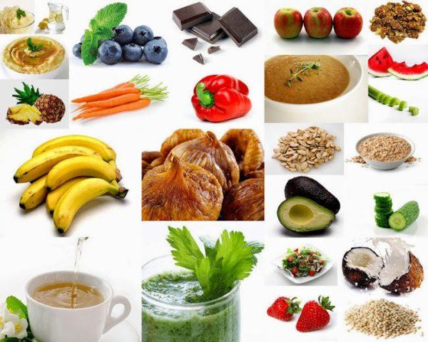 Перекусы на правильном питании для похудения