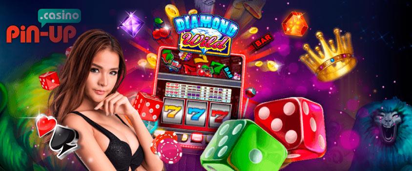 Игровые аппараты от казино Пин Ап